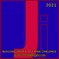 Blogging from A to Z April Challenge a-to-zchallenge.com Jj