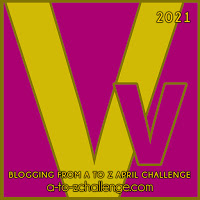 Blogging from A to Z April Challenge a-to-zchallenge.com Vv